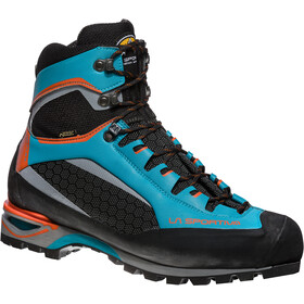 La Sportiva M's Trango Tower GTX Shoes Tropic Blue/Tangerine
